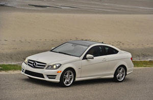 2012 Mercedes-Benz C 350 Coupe Side View