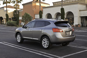 2012 Nissan Rogue Rear View