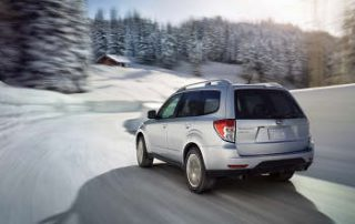 2012 Subaru Forester on Snow