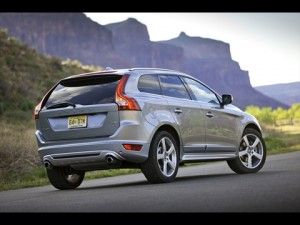 2012 Volvo XC60 R-Design Rear View