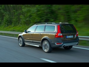 2012 Volvo XC70 Rear View