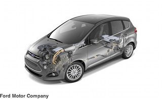 The new C-MAX Hybrid is targeted to achieve better fuel economy than Toyota Prius v.