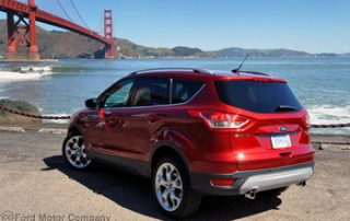 The Ford Escape in the Golden State