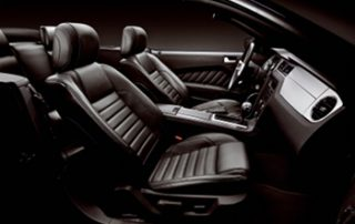 interior includes MyKey, auxiliary audio input jack, HD Radio, Sirius Satellite Radio, SYNC with AppLink, voice-activated Navigation System with touch