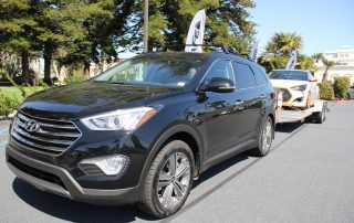 2013 Hyundai Santa Fe Limited AWD can tow 5,000 pounds