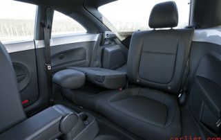 interior of the 20141 VW Beetle RDI