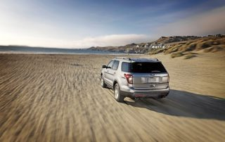 Exploring in a 2014 Ford Explorer