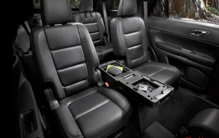interior room of 2014 Ford explorer