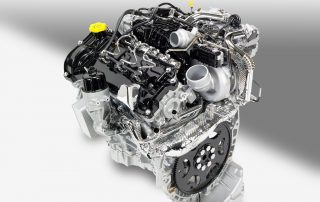 the engine in the 2014 Jeep Grand Cherokee Overland diesel