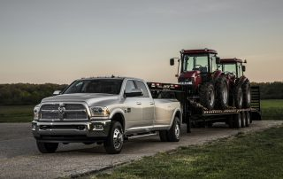 2014 Ram heavy duty and it can tow too