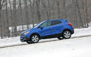2015 Buick Encore from the side