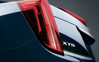 2015 Cadillac XTS distintive tail lights