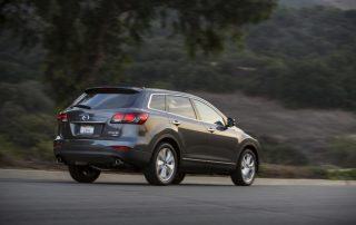 2015 Mazda CX-9 All-wheel drive from the back
