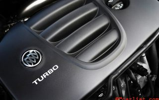 2015 Buick Verano Turbo 2.0L engine delivers 250 hp and 260lb-ft of torque
