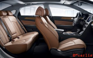 2015 Hyundai Sonata interior side view