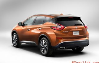 2015 Nissan Murano back side
