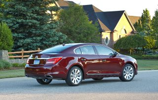 2015 Buick LaCrosse right at home