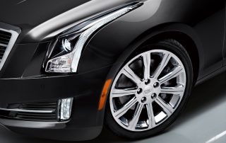 2015 Cadillac ATS coupe luxury lines and treatment