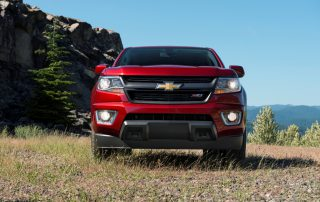 2015 Chevy Colorado Z71 front