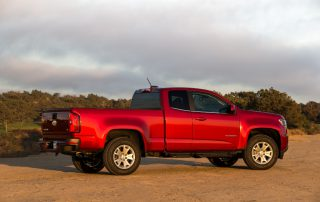 2015 Chevrolet Colorado sideview