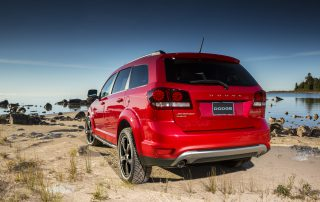 2015 Dodge Journey from the back
