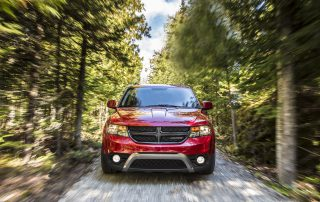 2015 Dodge Journey from the side