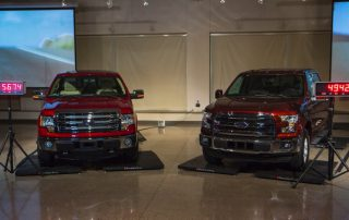 2015 Ford F-150 over the years