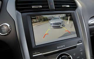 2015 Ford Fusion rearview camera