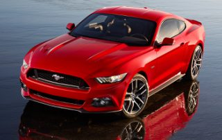 2015 Ford Mustang the GT