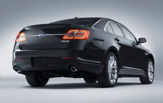 2015 Ford Taurus from the rear