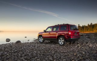 2015 Jeep Patriot find new roads