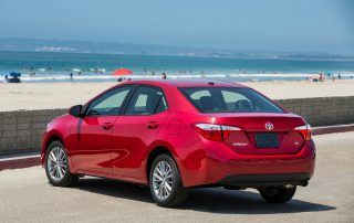 2015 Toyota Corolla from the side