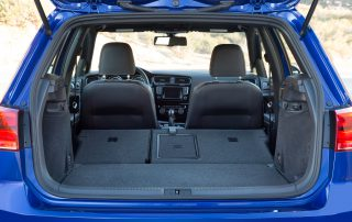 2015 Volkswagen Golf R - 60/40 split fold down seats for more cargo room