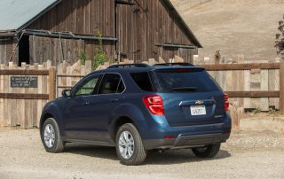 2016 Chevy Equinox LT south of the Equator