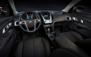 2016 Chevy Equinox LTZ interior