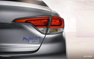 2016 Hyundai Sonata Plug-In Hybrid tail light