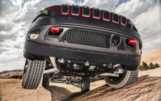 2016 Jeep Cherokee Trailhawk underpinnings