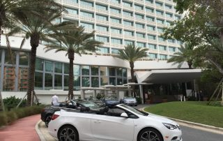 2016 Buick Cascada in front of the Edition Hotel