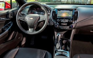 2016 Chevy Cruze interior