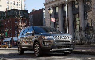 2016 Ford Explorer Platinum series in Magnetic