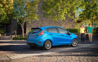 2016 Ford Fiesta side view