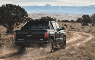 2016 GMC Sierra 1500 from the back
