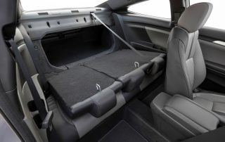 2016 Honda Civic Coupe back roominess
