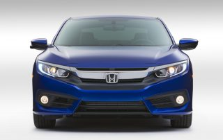 2016 Honda Civic Coupe front