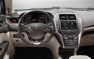 2016 Lincoln MKC lots of info in the dash