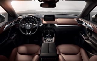2016 Mazda CX-9 front seat