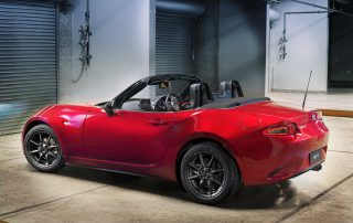 2016 Mazda Miata MX-5 top down
