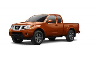 2016 Nissan Frontier front grille