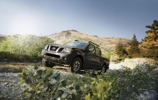 2016 Nissan Frontier side view