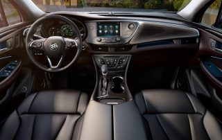 2017 Buick Envision front row and dash